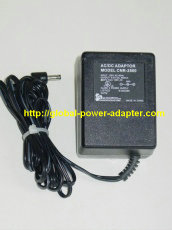 New Audiovox CNR-2500 AC Adapter 9V 600mA 0.6A CNR2500