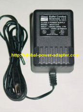 New Raffel Comfort Sciences MA411210 AC Adapter 12VAC 1000mA 1A