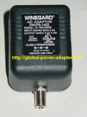 New Winegard PS-1403 Antenna Signal Boosters 41-180-0300D AC Adapter