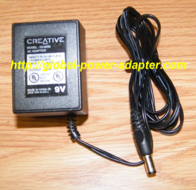 NEW Genuine Creative DV-9440 AC Adapter 9V 400mA 7W 60Hz Power Supply Charger