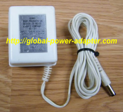NEW Genuine Gerry AD-011 AC Adapter 9V 100mA 2W 60Hz Power Supply Charger
