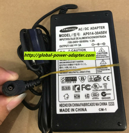 NEW Samsung AP014-30450V ADAPTER POWER SUPPLY 6.4mm X 4.4mm