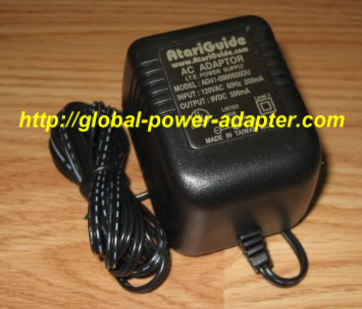 NEW AtariGuide AD41-0900500DU AC Adapter I.T.E Output 9VDC 500mA Power Supply