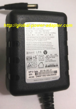 NEW APD Asian Power Devices Inc WA-18Q12FU US 12V 1.5A 120-240V 50-60Hz AC Adapter