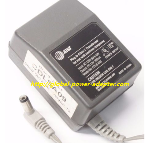 NEW AT&T Adapter Charger Output 12V 200mA FOR CDLS-A09 AC DC Power Supply - Click Image to Close